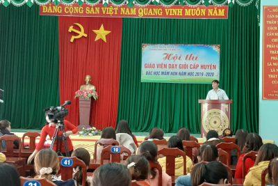 Ghi nhận qua Hội thi giáo viên giỏi mầm non huyện Krông Nô, tỉnh Đăk Nông